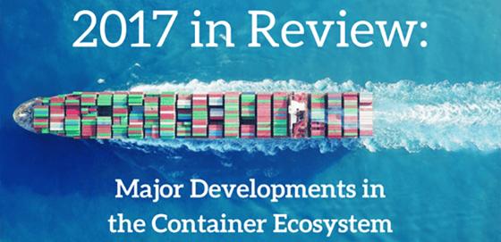 2017 container developments