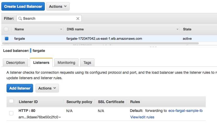 Securing Containers in AWS Fargate MicroEnforcer