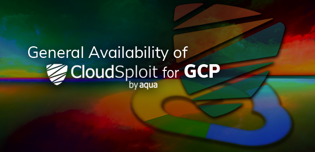 Aqua CSPM Google Cloud Security