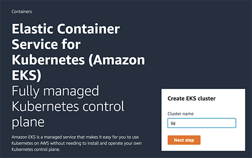 Container Security Amazon EKS