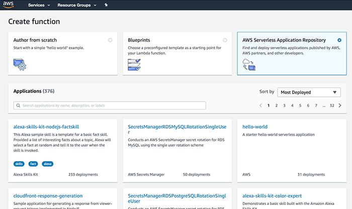 AWS Serverless Security
