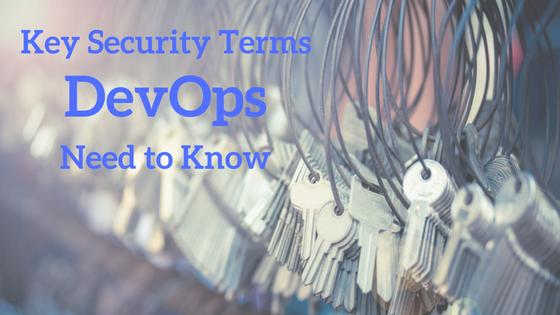Security Terms DevOps