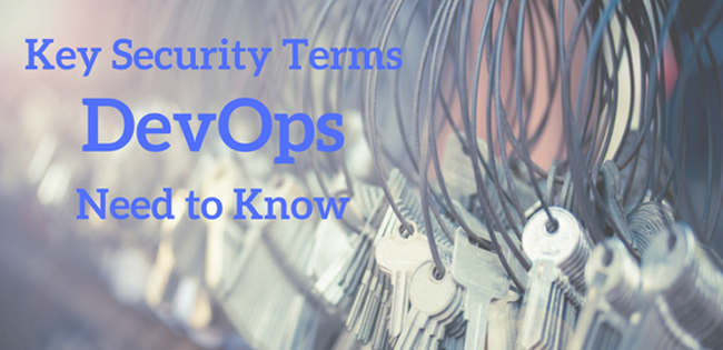 Key Security Terms for DevOps