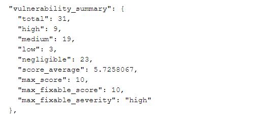 Free Image Vulnerability Scanner for Developers