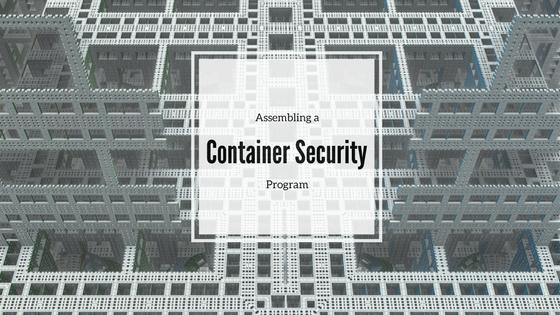 Container Security Program