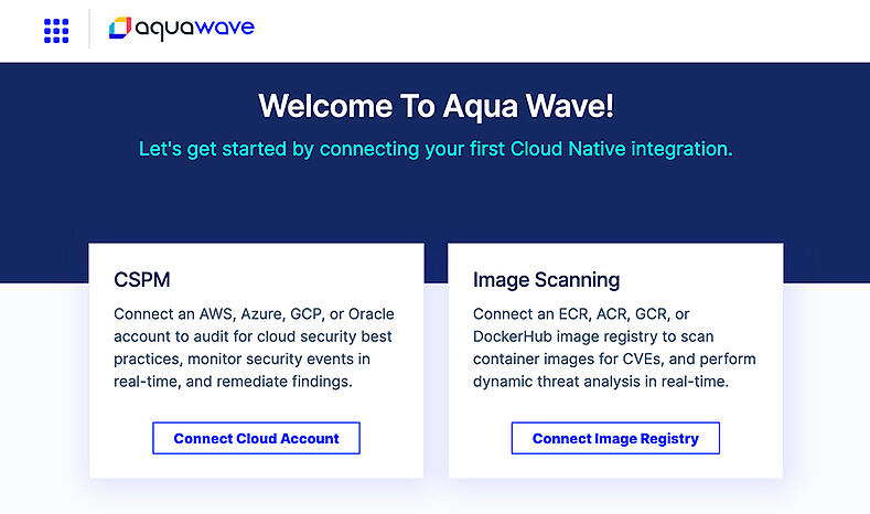 Wave_Welcome page