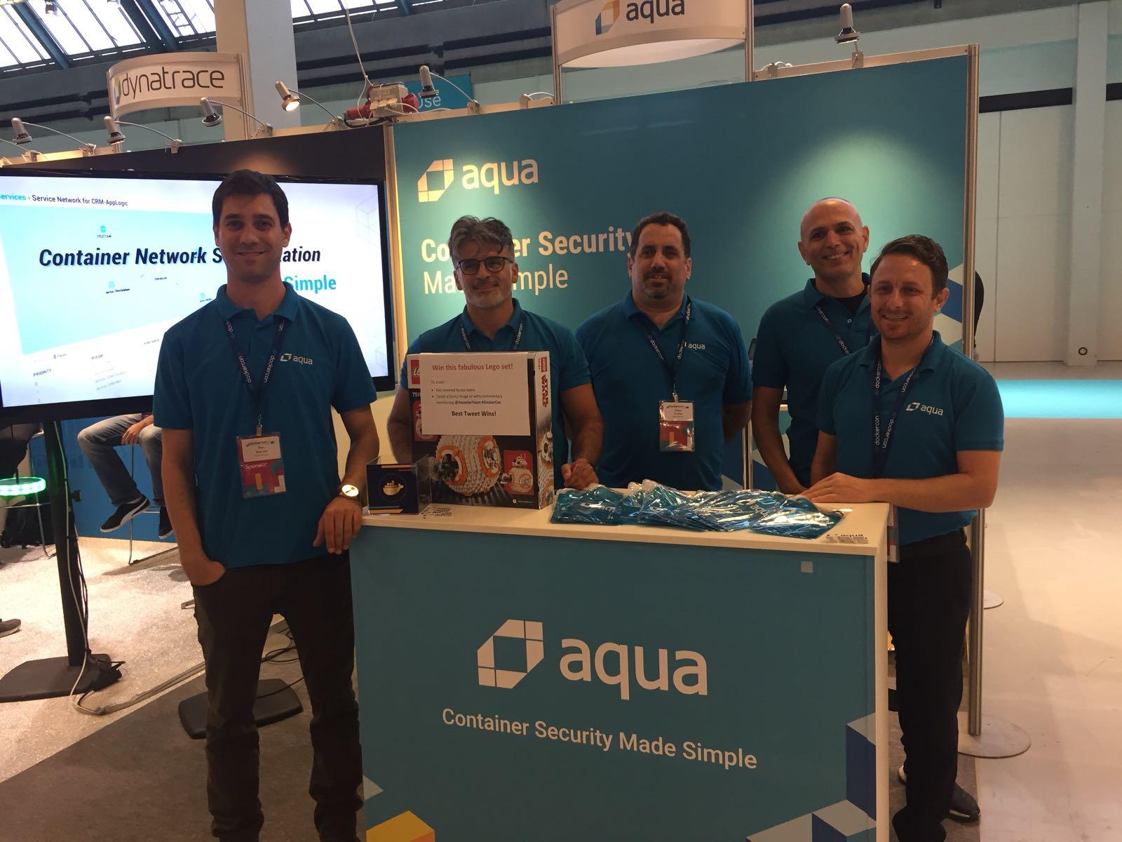 The Aqua team at DockerCon