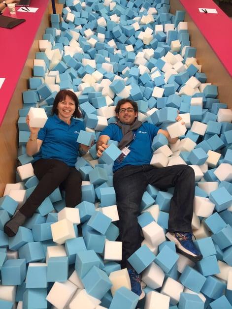 Having fun at DockerCon