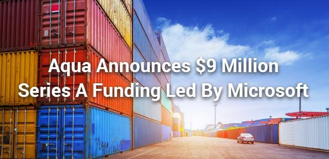 Aqua Announces Series A Funding