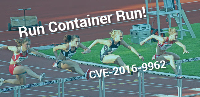 BLog runc CVE