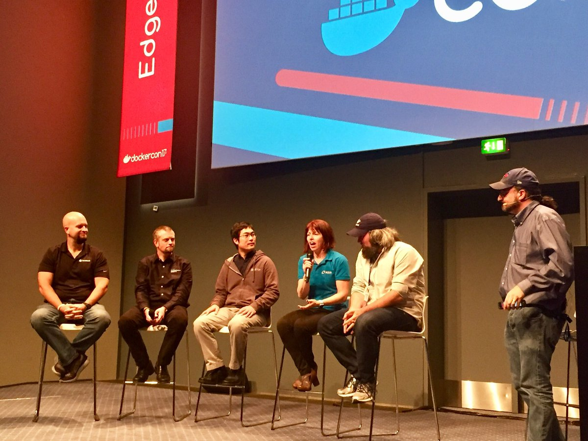 Security Panel at DockerCon
