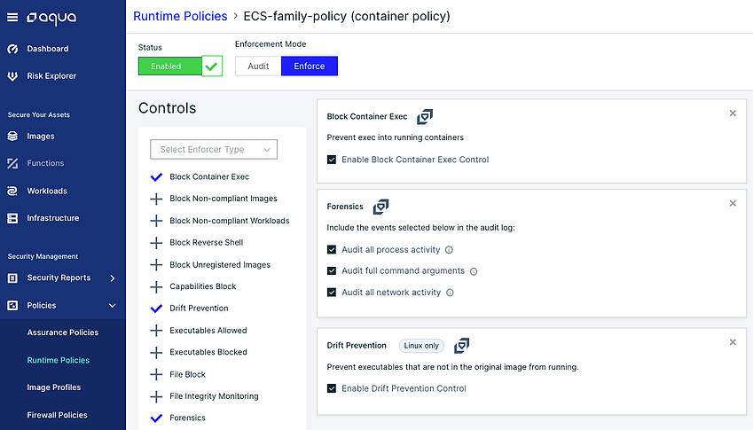 single-policy-for-all-ECS