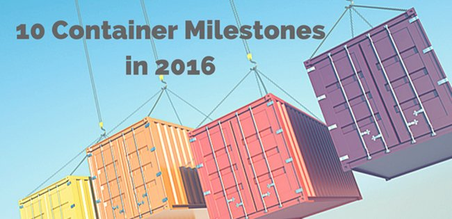 10 Milestones in The Container Ecosystem