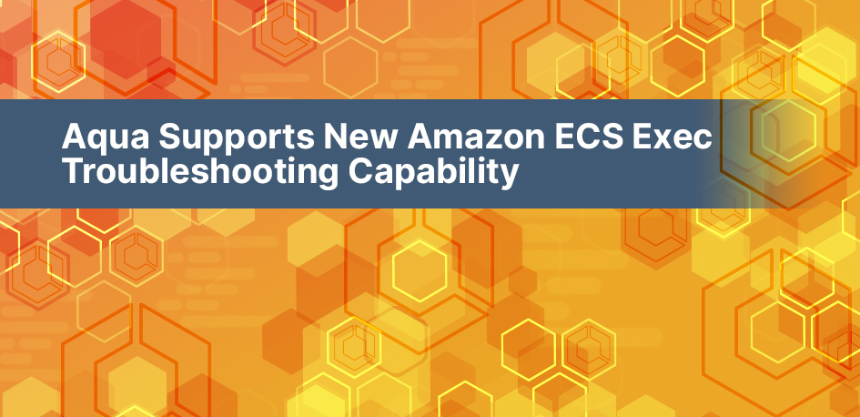Amazon ECS security