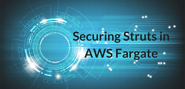 Securing Struts in AWS Fargate