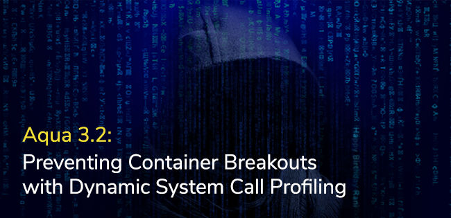 Aqua 3.2: Preventing Container Breakouts with Dynamic System Call Profiling