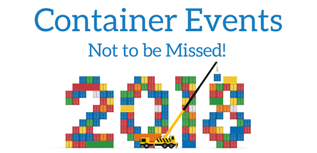 Container Events Not to be Missed in 2018