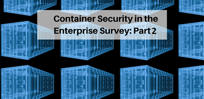 Survey Reveals: DevSecOps to Own Enterprise Containerized Application Security