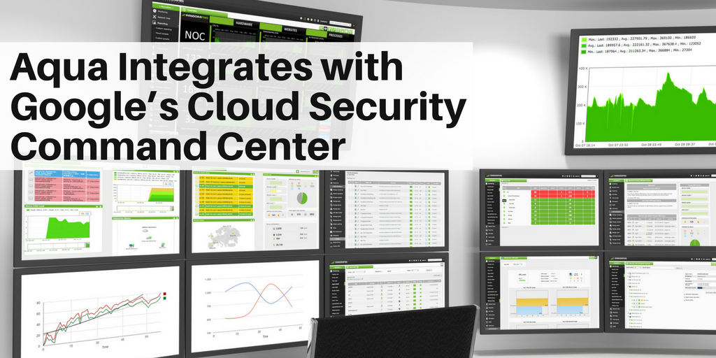 Aqua Integrates with Google's Cloud Security Command Center