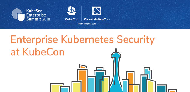 Enterprise Kubernetes Security at KubeCon + CloudNativeCon