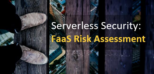 Serverless functions risk
