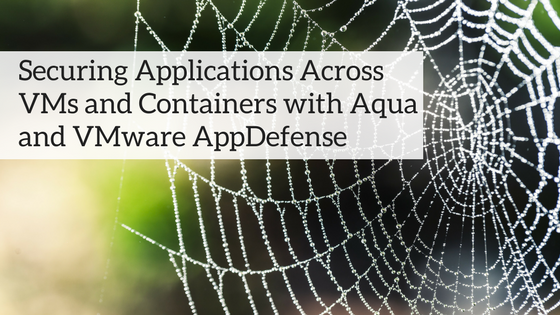 Securing Applications Across VMs and Containers with Aqua and VMware AppDefense