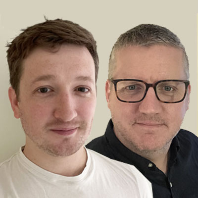 Picture of Liam Galvin and Owen Rumney